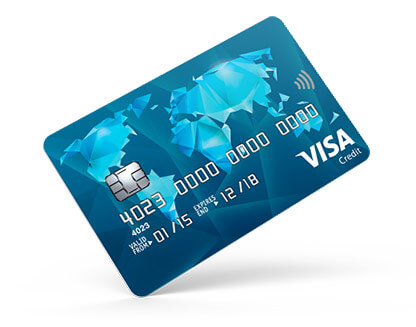 Blue Vanquis Card