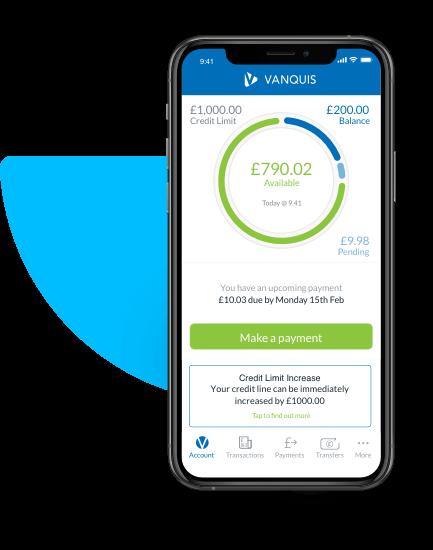 Vanquis Mobile App